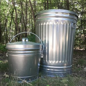 compost metal can