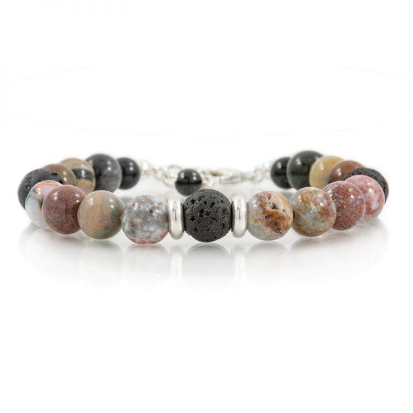 ocean jasper essential oil diffuser bracelets for charity