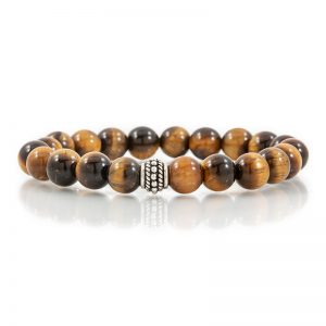 tiger eye gemstone stretch bracelets for charity