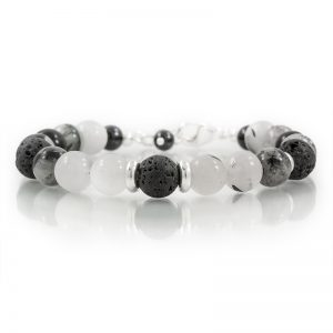 tourmalated quartz essential oil diffuser bracelets for charity