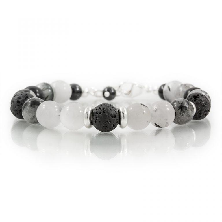tourmalated quartz essential oil diffuser bracelets for charity
